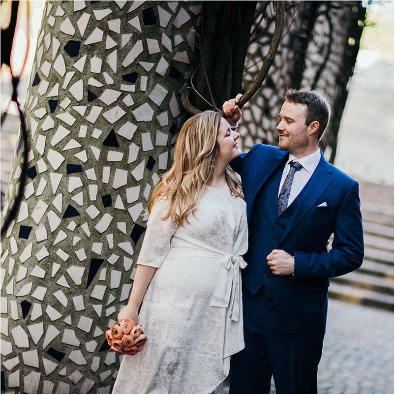 Bryllup og bryllupsfotograf i Kolding – hold det lokalt