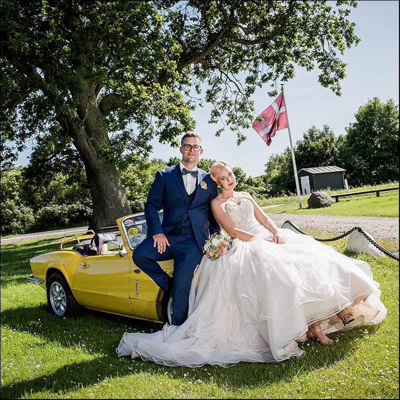Ekslusiv bryllupsfotograf i Vejle, Kolding, Fredericia og resten af Trekantsområdet