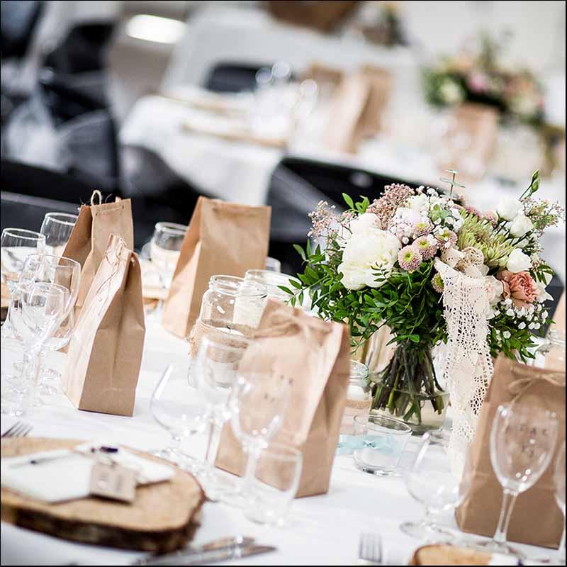 For at sikre et ensartet udtryk fra bryllup til bryllup