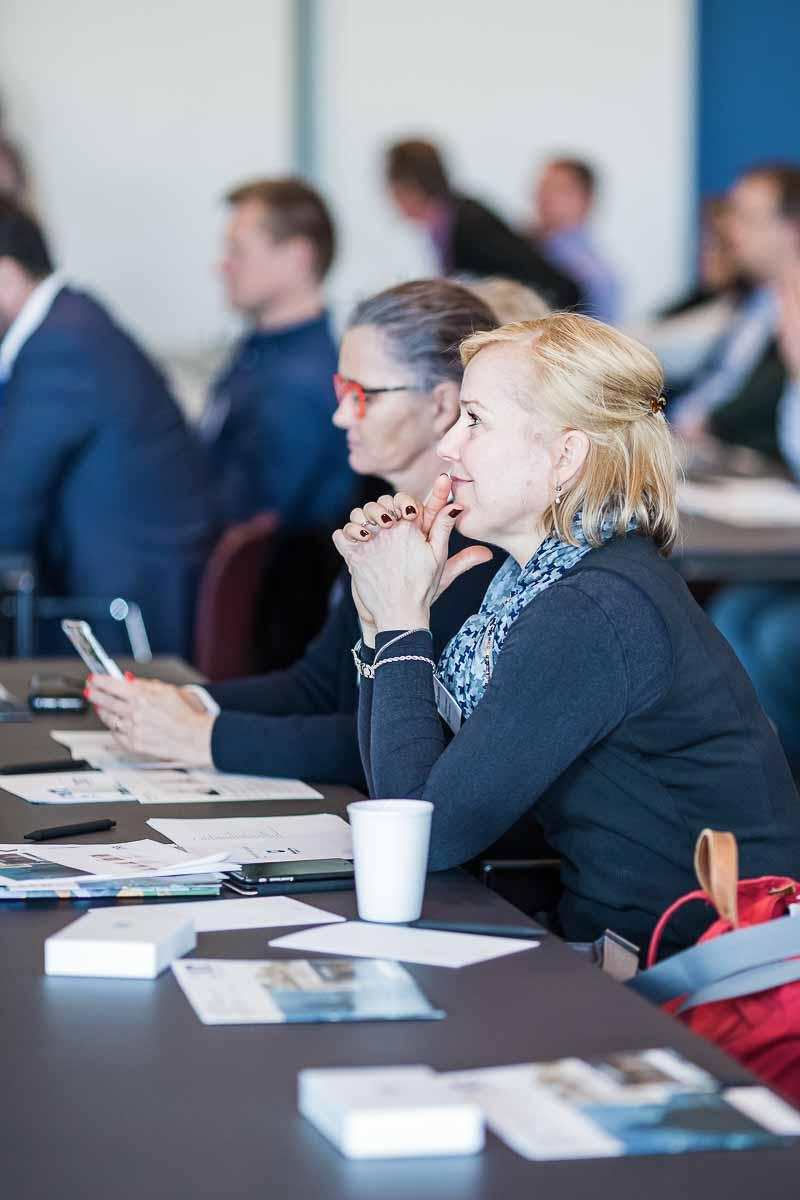 Billeder af konference