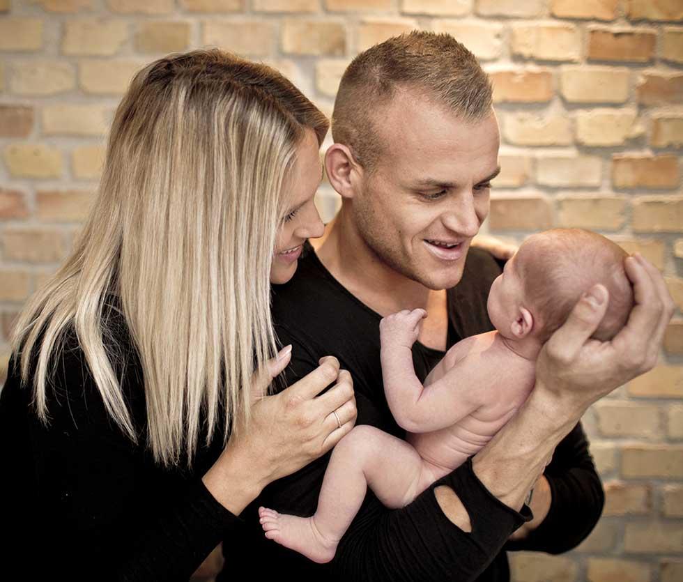 Familieportræt fotograf Kolding