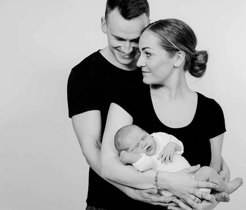 Familiefotograf i trekantsområdet