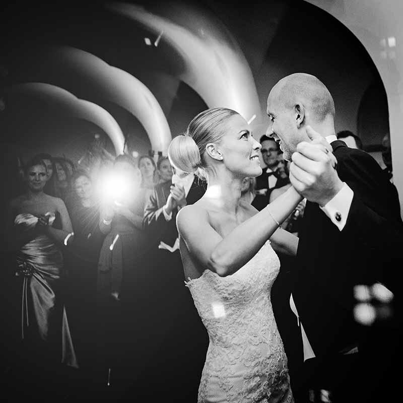Bryllupsbilleder og tidsplan
