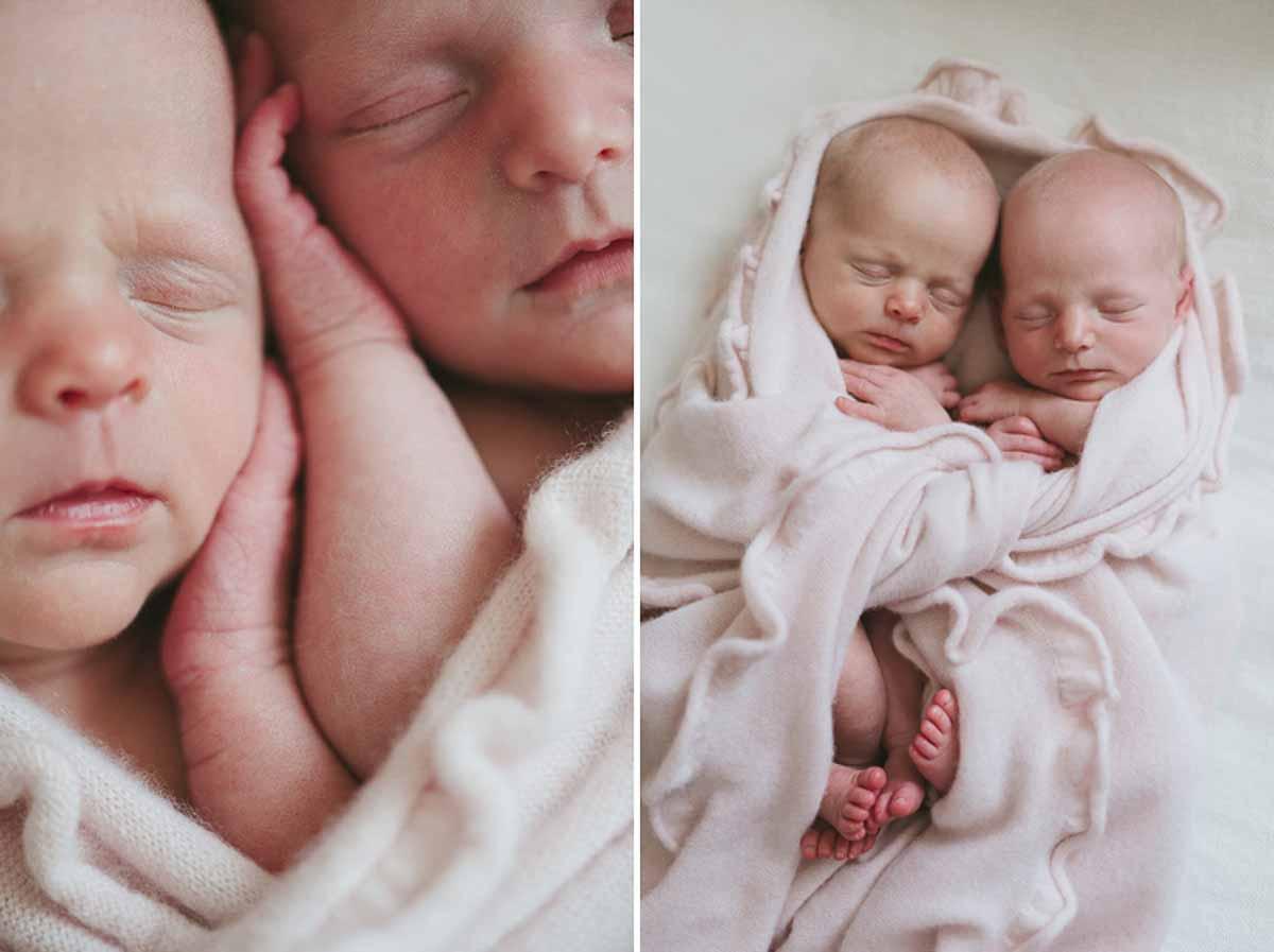 Professionel newborn fotografering af jeres newborn baby