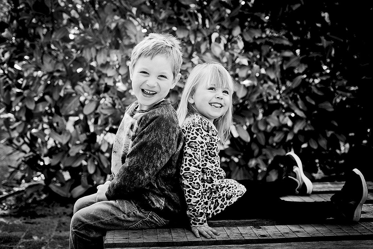 Fotografering af søskende og familier